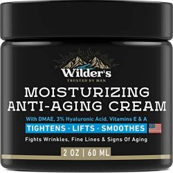 Men's Anti Aging Face Cream Moisturizer – Premium Skin Care for Men with Collagen, Retinol, Hyaluronic Acid – Made in USA – Fast Anti-Age Effect Day & Night – Wrinkle Free Facial Men Moisturizer 2Oz