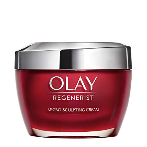 Face Moisturizer with Collagen Peptides by Olay Regenerist Micro-Sculpting Cream 1.7 oz, 2 Month Supply