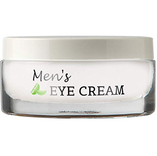 Natural Eye Cream for Men – Best Mens Treatment for Puffiness – Dark Circles and Wrinkles with Calendula and Sesame – Anti Aging Benefits and USA Made