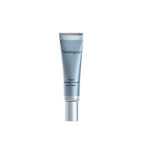 Neutrogena Rapid Wrinkle Repair Hyaluronic Acid Retinol Under Eye Cream – Anti Wrinkle Eye Cream for Dark Circles & Puffiness & Under Eye Bags – Hyaluronic Acid, Glycerin & Retinol Cream, 0.5 fl. oz