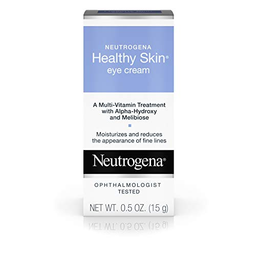 Neutrogena Healthy Skin Eye Firming Cream with Alpha Hydroxy Acid, Vitamin A & Vitamin B5 – Eye Cream for Wrinkles with Glycerin, Glycolic Acid, Alpha Hydroxy, Vitamin A, Vitamin B5, Vitamin C, 0.5 oz
