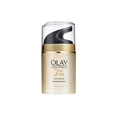 Olay Total Effects Anti-Aging Face Moisturizer with Vitamin E, Fragrance-Free 1.7 fl oz