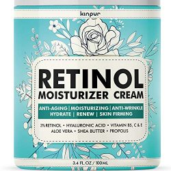 3% Retinol Face Moisturizer for Women – Anti Aging & Anti Wrinkle Cream that Works – 3.4 Oz