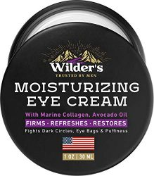 Moisturizing Men's Eye Cream – Eye Firming & Refreshing Men's Wrinkle Cream – Made in USA – Men's Anti-Aging Cream for Dark Under-Eye Circles, Eye Bags & Puffiness – Under Eye Cream for Men 1 oz