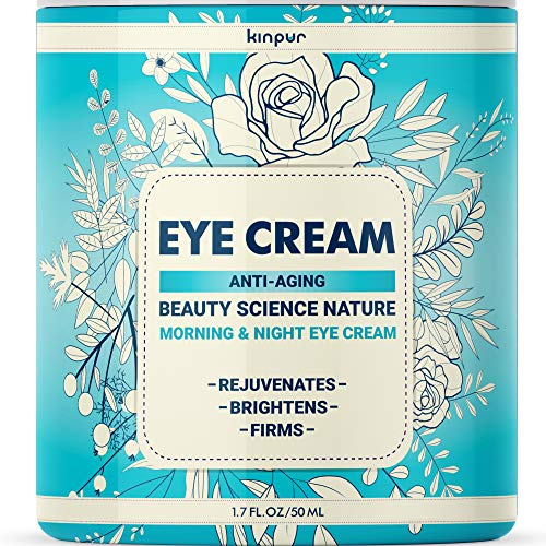 Best Under Eye Cream for Dark Circles and Puffiness – Anti-Aging and Moisturising Effect for Bags, Wrinkles, Fine Lines, Crow's Feet, 1.7 oz