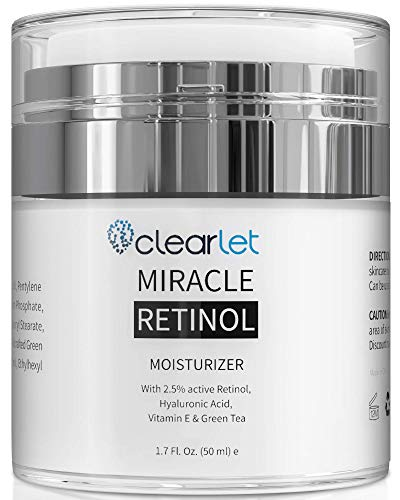 Retinol Cream for Face Moisturizer for Women Men Anti Aging Face Wrinkle Cream Retinol Facial Eye Cream Reduces wrinkles Fine Lines Day Night Facial Creams Retinoid Mens Retinol Moisturizer for Face