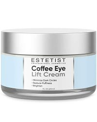 Caffeine Infused Coffee Eye Lift Cream – Reduces Puffiness, Brightens Dark Circles, Firms Under Eye Bags – Anti Aging, Wrinkle Fighting Skin Treatment