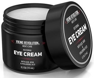 Natural Eye Cream for Men – Mens Eye Cream for Anti Aging, Dark Circle Under Eye Treatment.- Men's Eye Moisturizer Wrinkle Cream – Helps Reduce Puffiness, Under Eye Bags and Crowsfeet