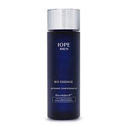 IOPE Men Bio Essence Intensive Conditioning Moisturizing Water Serum for Face, Anti Aging Face Serum, Skin Brightening and Tightening Formula for Fine Lines and Sun Damage, 4.90 FL OZ