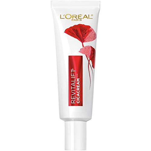 L'Oreal Paris Revitalift Cicacream Anti-Aging Face Moisturizer with Centella Asiatica for Anti-Wrinkle and Skin Barrier Repair, Fragrance Free, Paraben Free, 1.7 fl. oz.