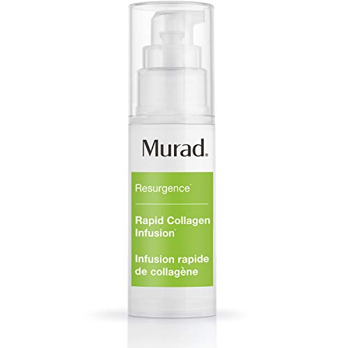 Murad Resurgence Rapid Collagen Infusion – Anti-Aging Collagen Serum for Skin – Collagen Cream for Face and Neck Smooths and Visibly Minimizes Wrinkles, 1.0 Fl Oz
