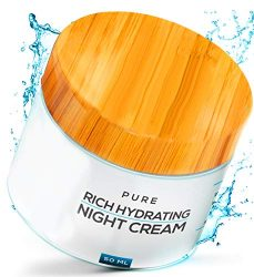Night Face Cream – 100% Organic | New Nano Science in Anti Aging | Nano Purity – The Most Biologically Pure & Potent Product on the Market | Nano Particles Work on Deepest Skin Layers | V Limited Edition