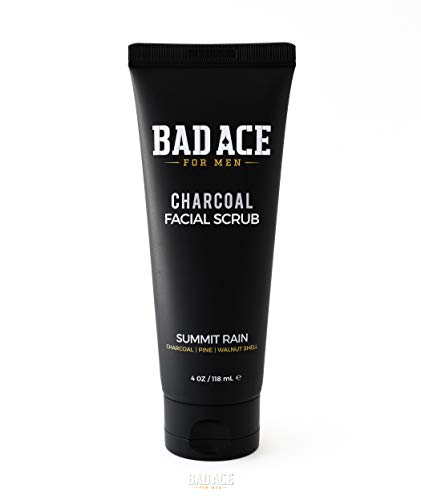 BAD ACE Charcoal Facial Wash with Scrubs for Men – Summit Rain