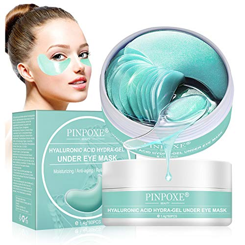 Under Eye Mask, Collagen Eye Mask, Anti Aging Eye Patch, Collagen Eye pads, Eye Treatment Mask, for Puffy Eyes & Bags, Dark Circles and Wrinkles,with Collagen, Hyaluronic Acid, Hydrogel