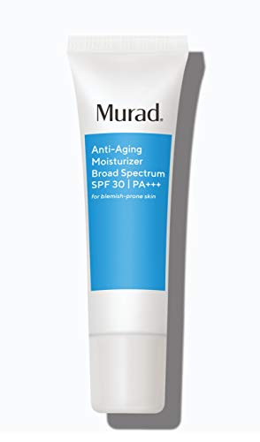 Murad Anti-Aging Moisturizer Broad Spectrum SPF 30 (UPDATED PACKAGING) | Grease-Free Face Moisturizer for Women & Men – Anti-Aging Face Cream with SPF, 1.7 Fl Oz