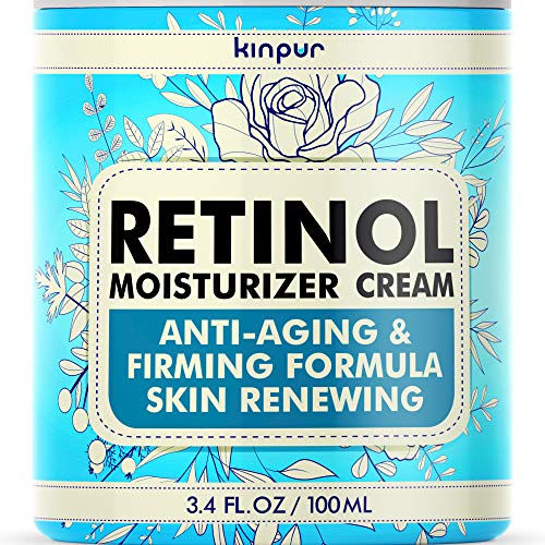 Premium Anti-Aging Face Moisturizer for Women – Pure Retinol Cream with Firming and Anti-Wrinkle Effect that Really Works – Effective Face Care for Women, 3.4 oz