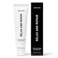 Relax And Repair Anti Aging Face Moisturizer for Men | Anti Wrinkle Cream for Face, Night Cream, Eye Cream with Niacinamide (Vitamin B3), Hyaluronic Acid, Vitamin E & Ceramides For Skin by Jaxon Lane
