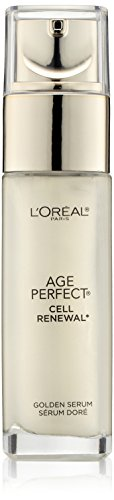 Skincare Age Perfect Cell Renewal Golden Face Serum, Anti-Aging Serum to Refine, Exfoliate and Replump Mature Dull Skin, 1 fl oz
