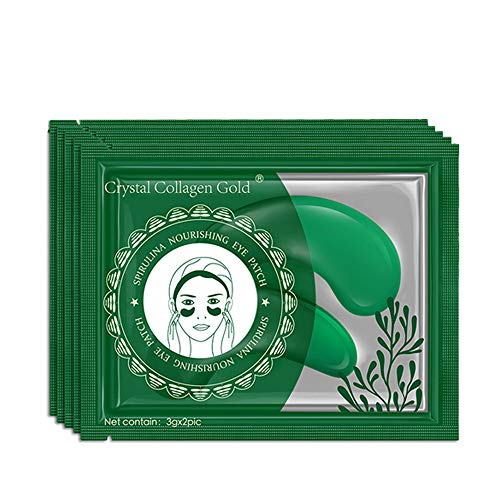 Under Eye Mask, POSTA 20 Pair Collagen Eye Treatment Gels Eye Patches, With Anti-Aging Hyaluronic Acid For Moisturizing & Reducing Dark Circles Puffiness Wrinkles Fine Lines