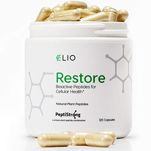Elio Restore NAD+ Boost Supplement – Anti-Aging Formula & Increase Cellular Health (Works with Nicotinamide Riboside) – Energy & Metabolism Support – 120 Vegetarian Capsules