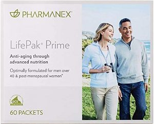 NuSkin LifePak Prime Anti-Aging Formula Supplement 60 Packets