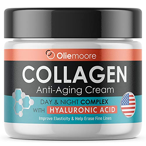 Collagen Face Cream for Women – Anti Wrinkle Cream for Face with Hyaluronic Acid & Vitamin C – Day & Night Cream for Women Anti Aging Face Moisturizer