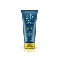 Oars + Alps Everyday Anti Aging Face Moisturizer, Includes Hyaluronic Acid, Vitamin E and Vitamin B5, Oil Free, SPF 37, 2 Oz